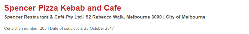 墨爾本唐人街中餐館一年罰款高達$354,504!這些上榜餐館可得小心-澳洲唐人街