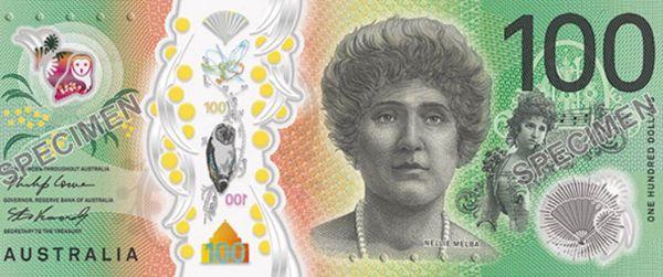 澳大利亞新版100澳元設計正式啟動