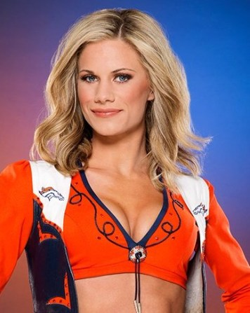 Denver Broncos Cheeleader