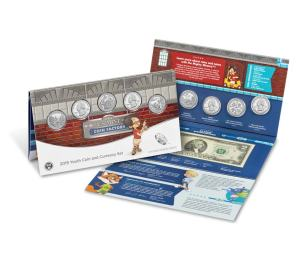 Youth Coin and Currency Set 2019