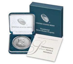 John Quincy Adams Presidential Silver Medal