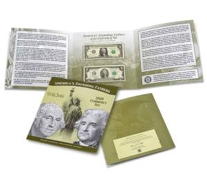 America's Founding Fathers 2020 Currency Set