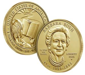 2020 Barbara Bush Gold $5
