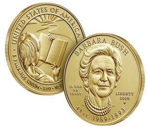 2020 Barbara Bush Gold $5