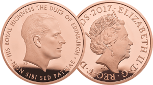 2017 Prince Philip Coin