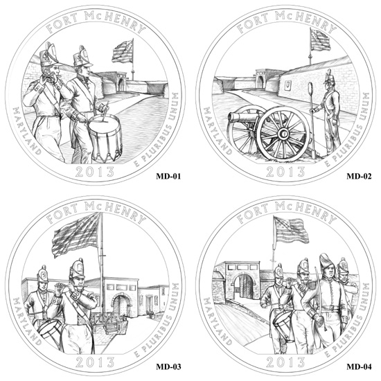 CCAC Review of 2013 America the Beautiful Quarter Designs