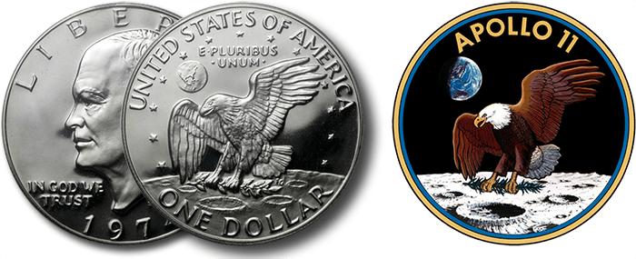 Resultado de imagen para Apollo 11 logo png