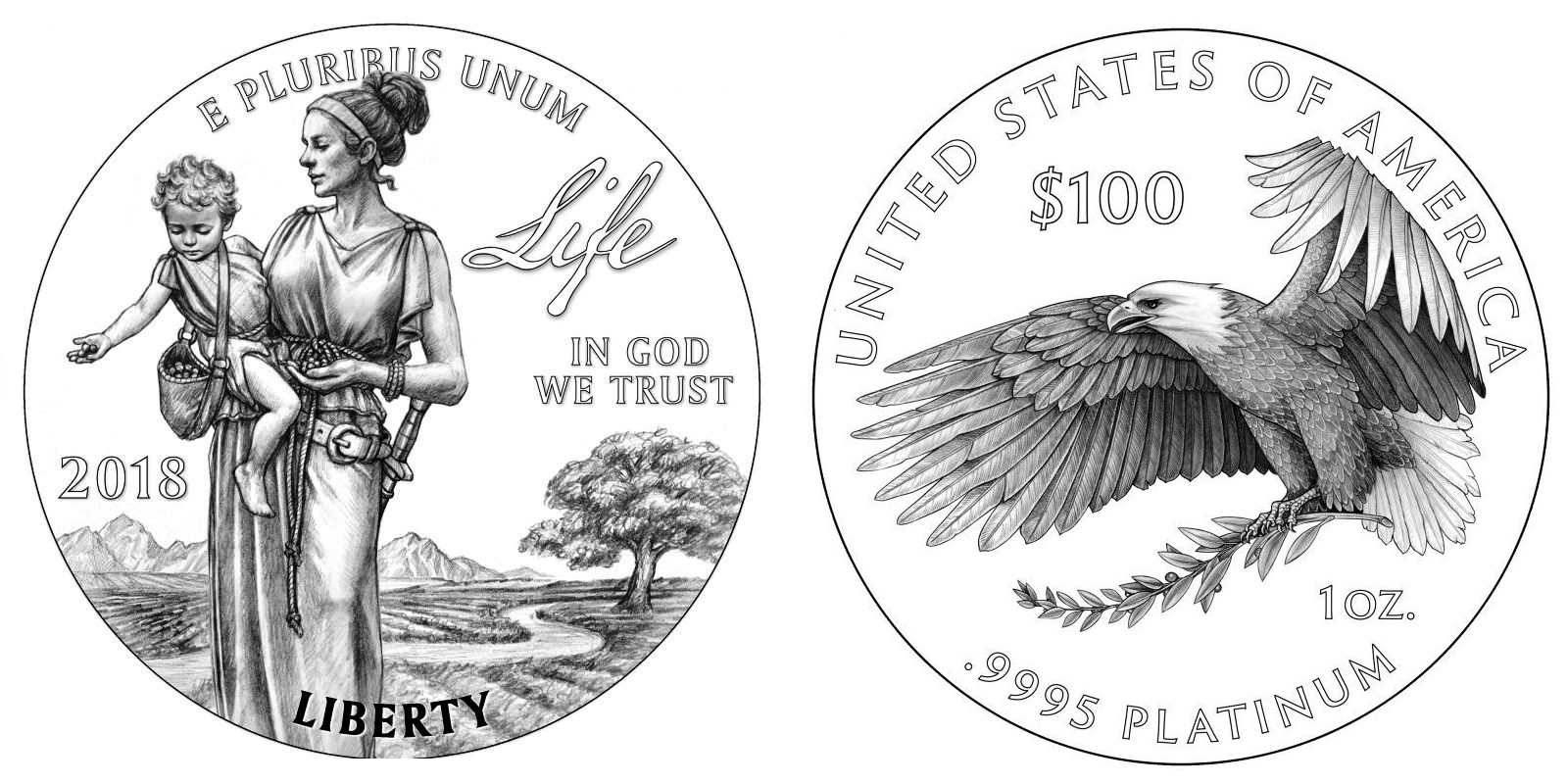 United States Mint Announces New One Ounce Platinum Proof