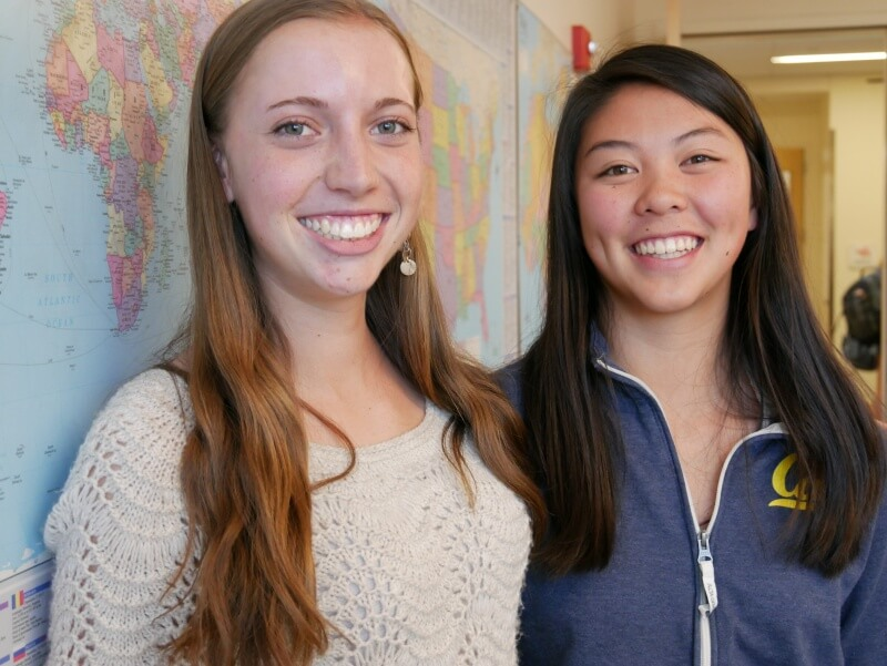 Lauren Fossel and Ann-Claire Lin