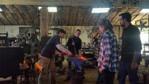 Blacksmithing: The Untold Challenge - Colorado Academy 2018 Interim