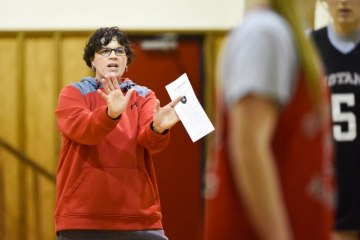 Colorado Academy's Girls Basketball Coach Cyndi Graziano