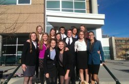 Colorado Academy's A-Team Takes Second Place in Mock Trial Competition