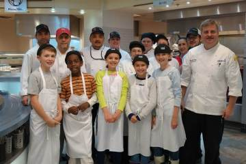 tudents 'Eat Up' Chef Mentoring Program