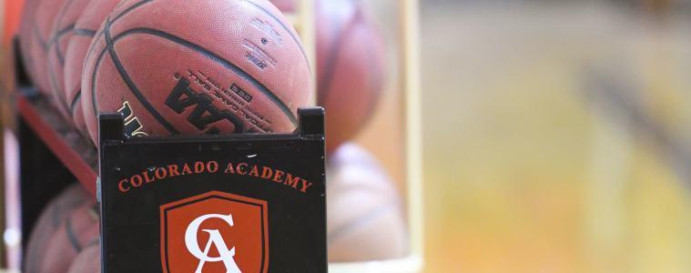 Girls basketball practice at Colorado Academy