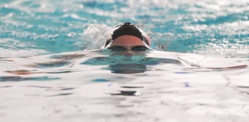 Colorado Academy swim meet at Green Mountain Recreation Center in Lakewood