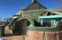 he Phoenix Earthship exterior in Taos, New Mexico. Photo by Adam Meltzer