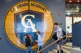 The new Athletic Center at Colorado Academy