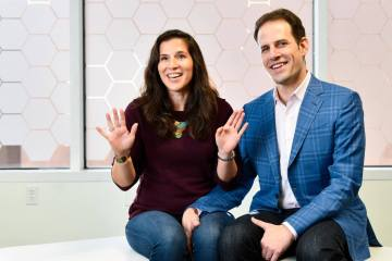 Bryan Leach and Jennifer Gaudiani