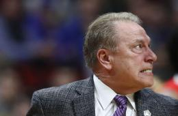 Michigan State basketball head coach Tom Izzo