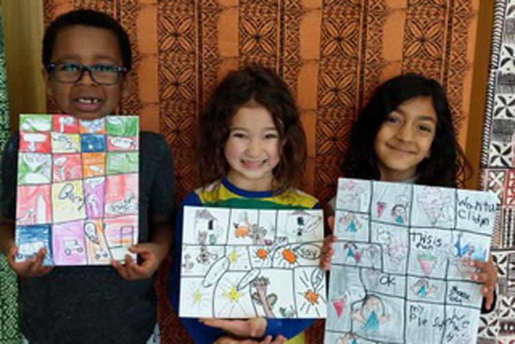 First Grade comic strips