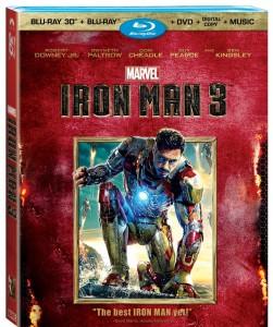 Iron Man 3 3D BD
