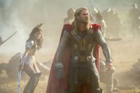 Thor The Dark World - Sif and Thor
