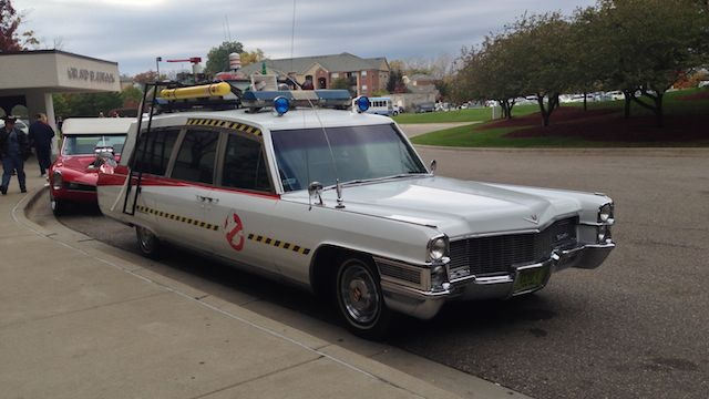 Ghostbuster Car
