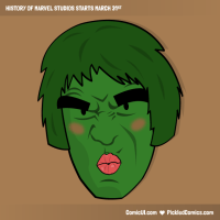 comicui pickled comics history of marvel studios  1 preview