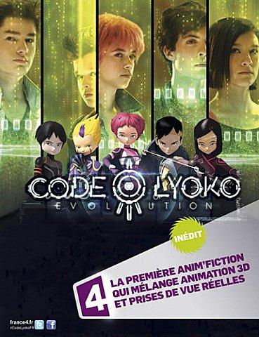 Affiche Code Lyoko Evolution sur France 4