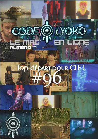 Couverture de Code Lyoko, le mag' en ligne Numéro 7