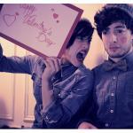 Photo de Mélanie et Quentin pour la Saint Valentin