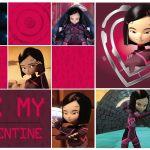 Carte pour la St-Valentin : Yumi