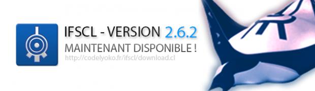 Sortie de l'IFSCL 2.6.2 !