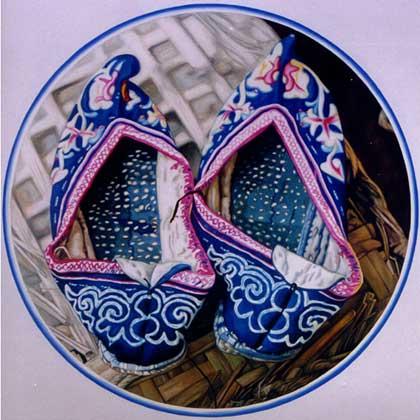 華夏文化-千姿百媚的繡花鞋
