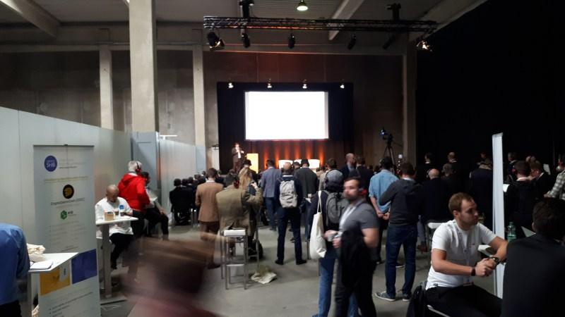 Summary of The First Day ANON Blockchain Summit Vienna Exhibition Impressions