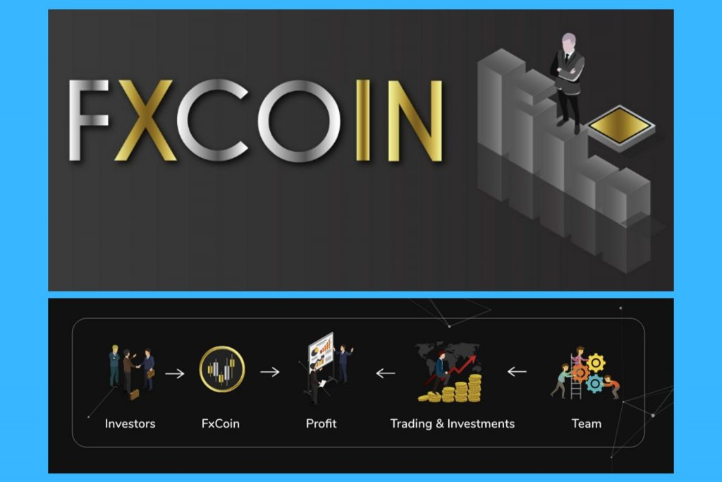 FxCoin trading platform - Vault Investment project