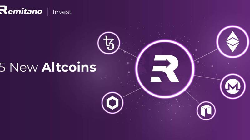Remitano Officially Lists 5 New Invest Altcoins