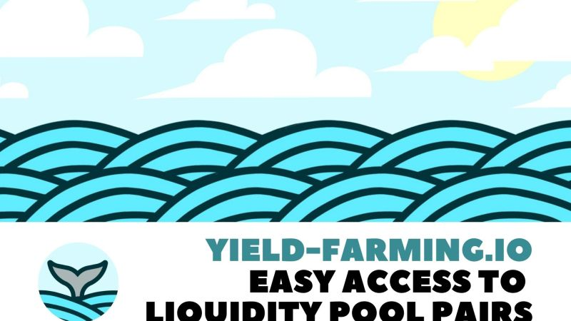 Yield-Farming.IO – A One-Stop Platform Offering Easy Access to Different Liquidity Pool Pairs