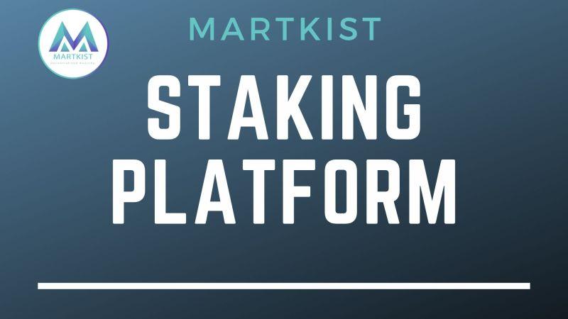 Martkist Staking Platform