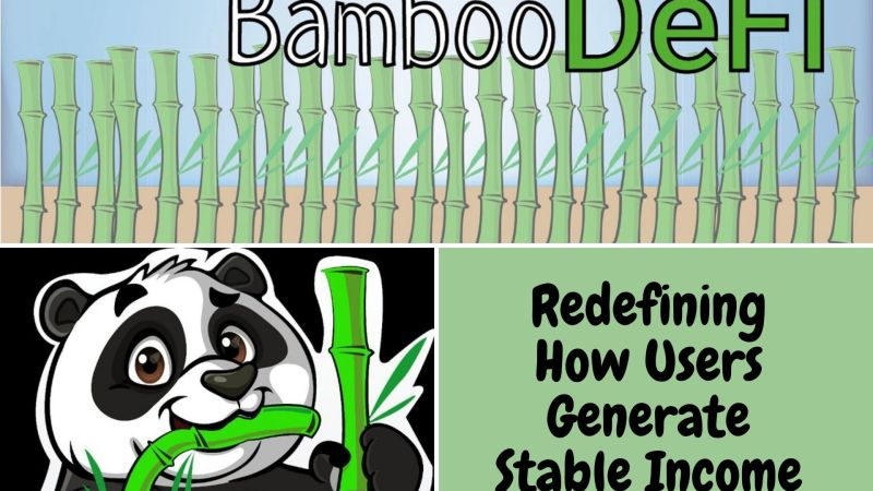 Bamboo DeFi | Redefining the Way Users Generate Stable Income