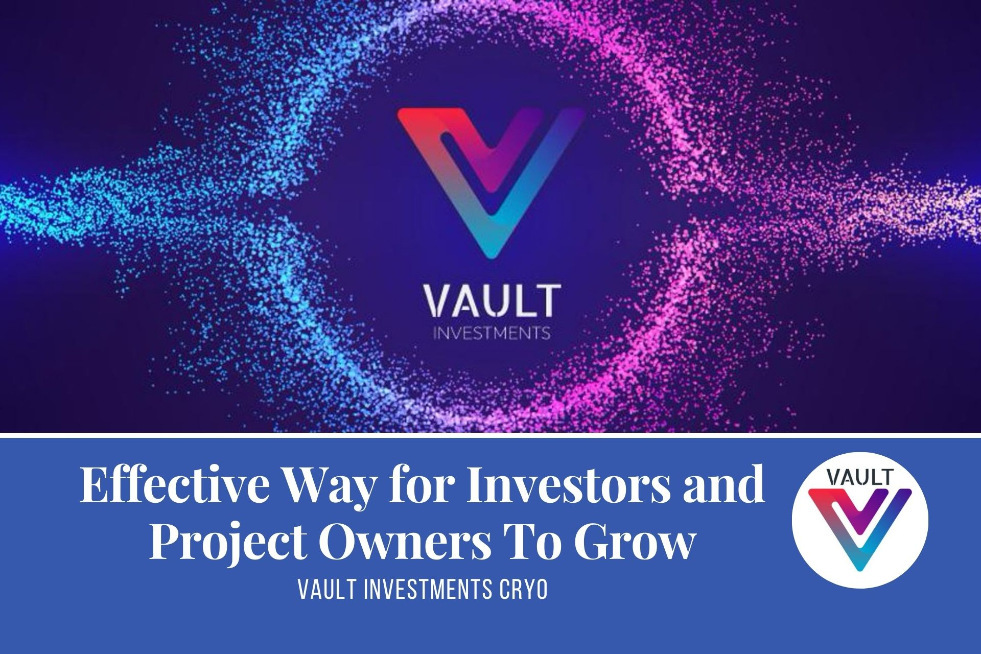 VAULT Investments | A Simple and Effective Way for Investors and Project Owners To Grow Together
