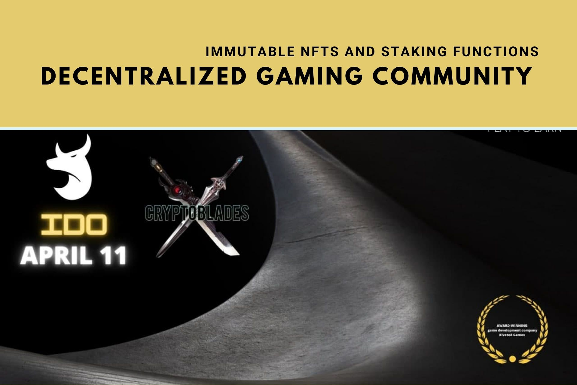 CryptoBlades | Creating a Decentralized Gaming Community With Immutable NFTs and Staking Functions