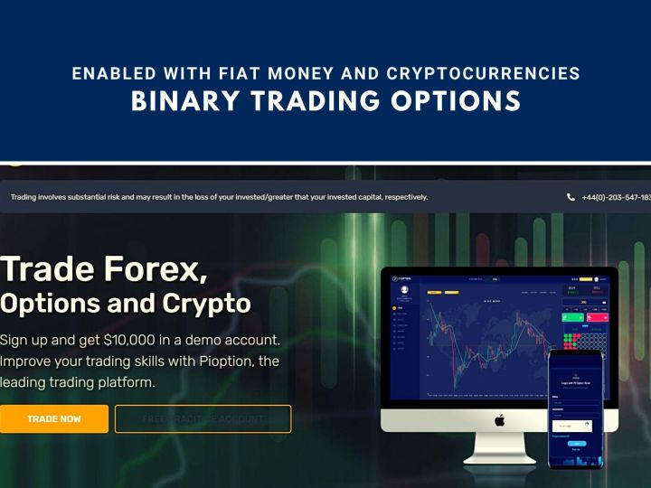 Pioption | Proffering Binary Trading Options Enabled with Fiat Money and Cryptocurrencies