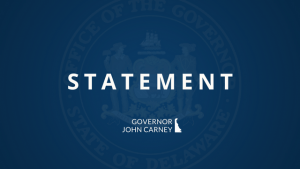 Statement from the Governor