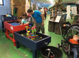 A Family at the DNREC State Fair Buildin