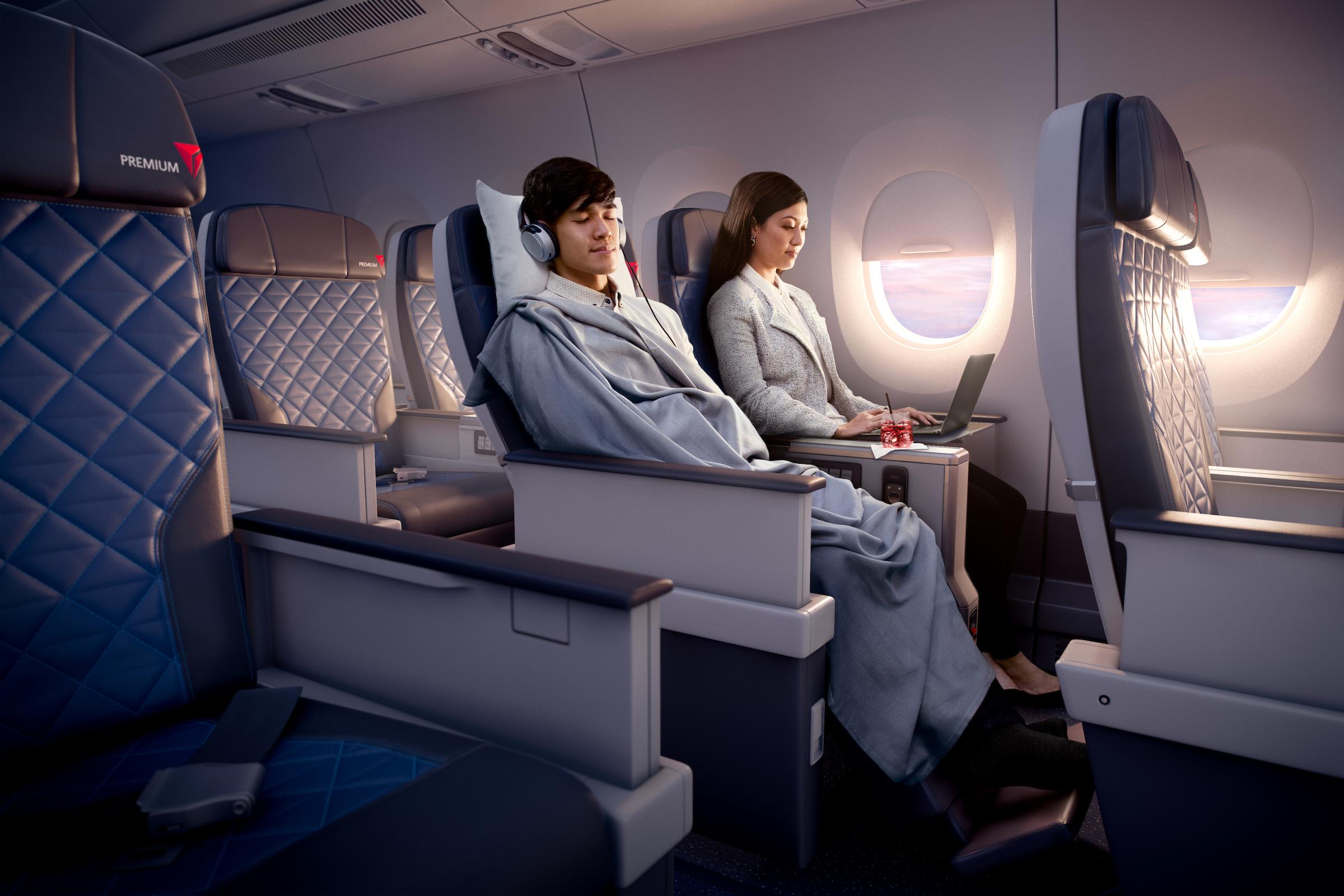 Boeing 767 400 Seating