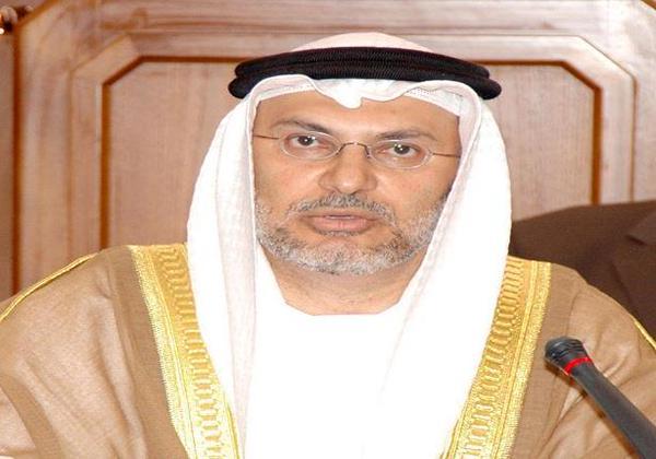 وزير الشئون الخارجية الاماراتي