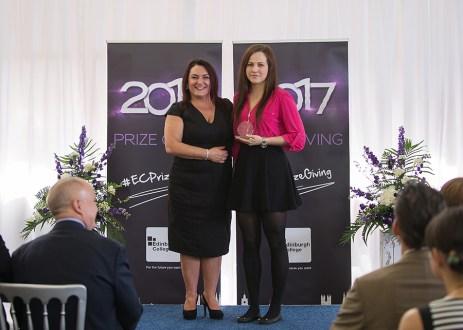 Awards ceremony at Milton Rd Campus