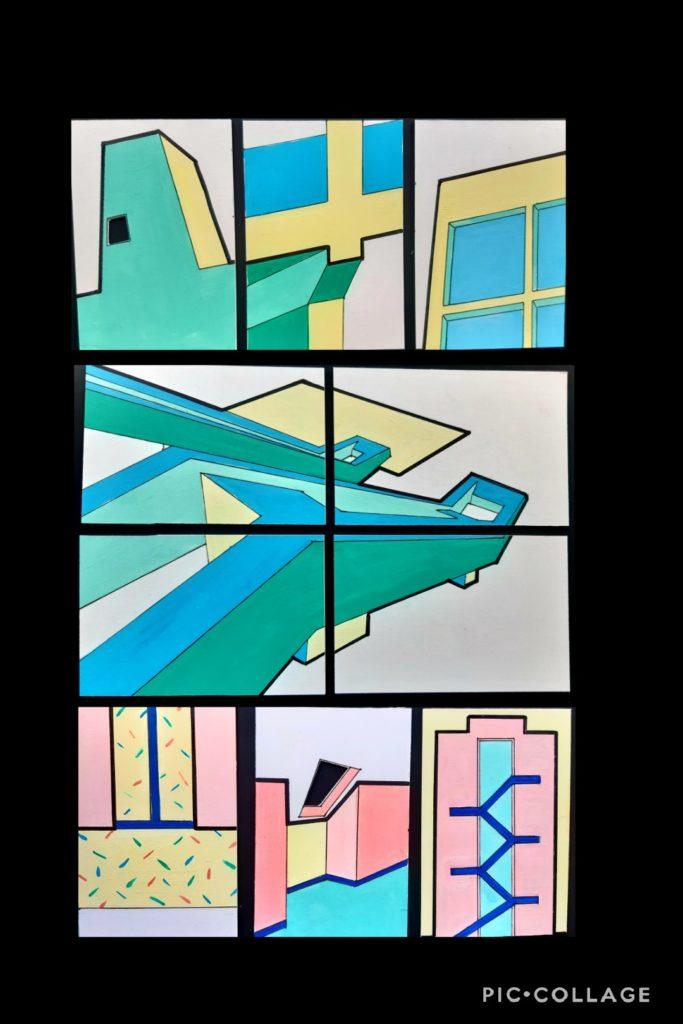 Some art work by Karen.