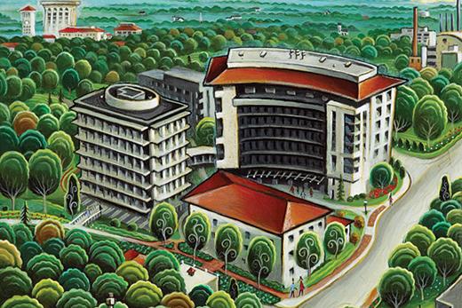 Nineteen Floors Millions of Stories  Emory University  Atlanta GA